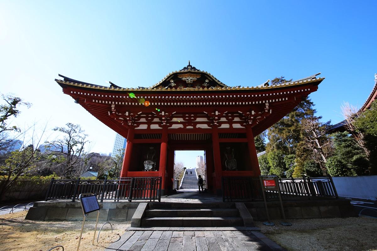 台徳院霊廟惣門 【国重要文化財】
