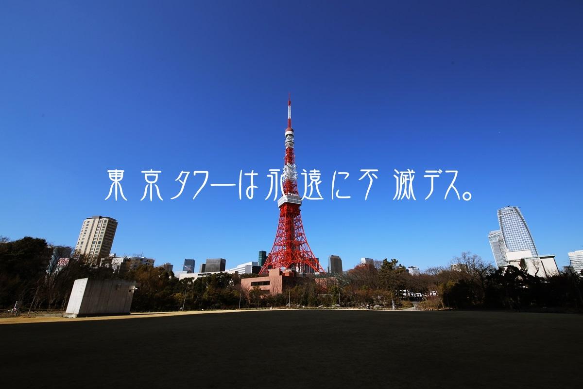 芝公園からの東京タワー tokyo_tower (2)