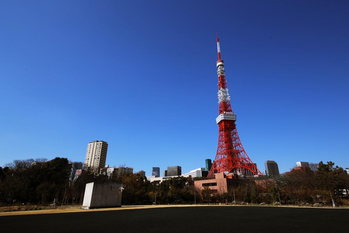 芝公園からの東京タワー tokyo_tower (4)