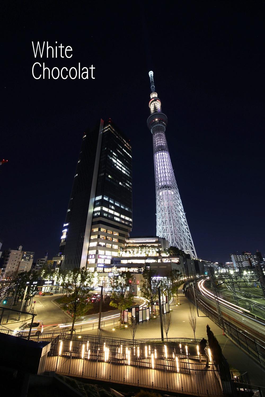 東京スカイツリーバレンタイン企画 ホワイトショコラ white_chocolat_skytree