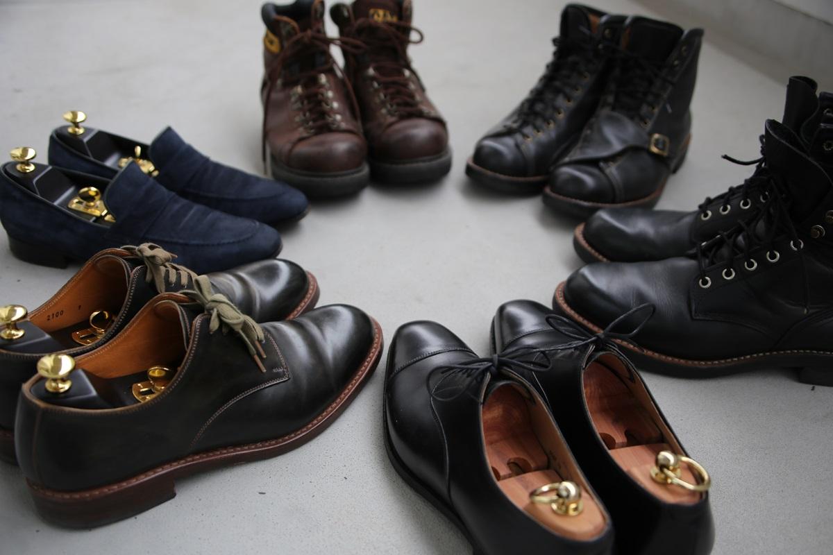 レザーシューズ my leather shoes (3)