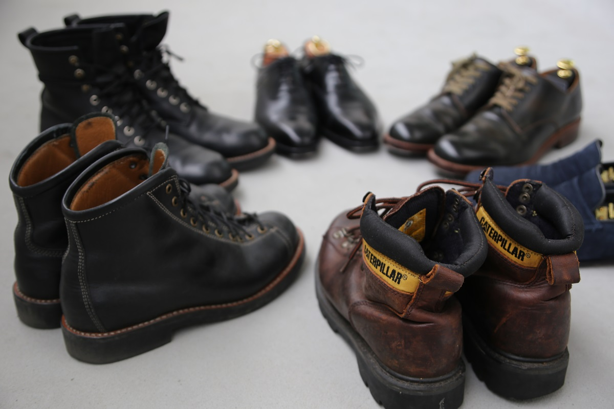 レザーシューズ my leather shoes