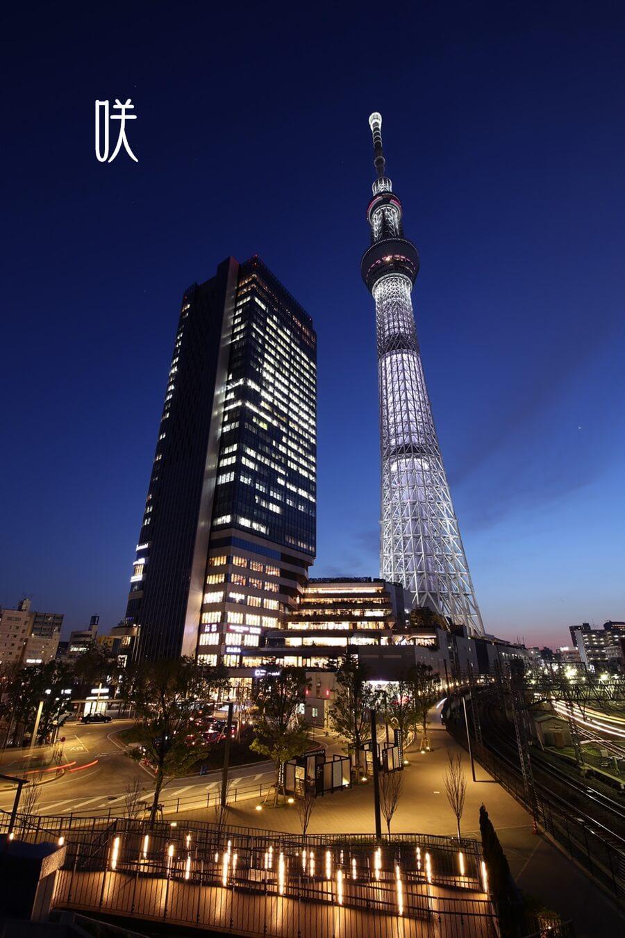 東京スカイツリー 咲 tokyo_skytree_20150317