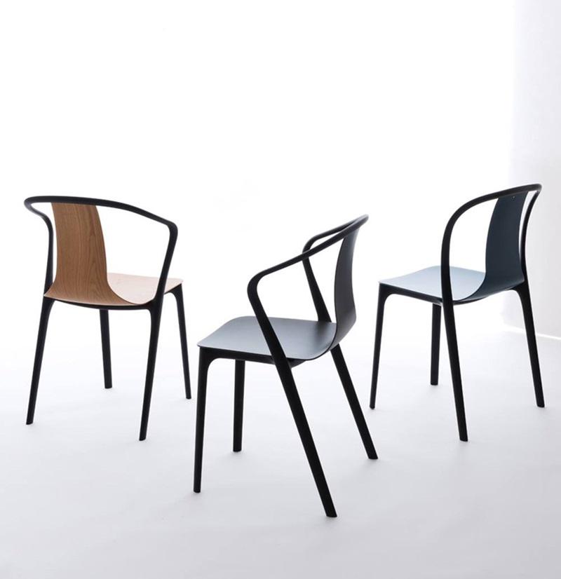 ロナン&エルワン・ブルレックの美しい椅子 チェア French designer Ronan and Erwan Bouroullec have conceived the Belleville Collection (2)