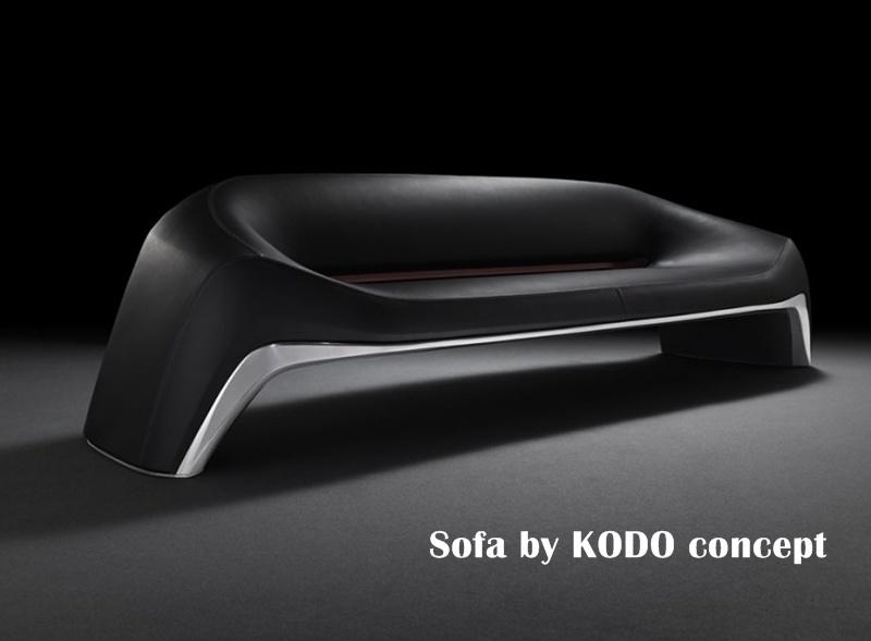 マツダ 鼓動 ソファ Mazda Kodo designed Sofa (3)