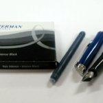 Wartermanの万年筆。