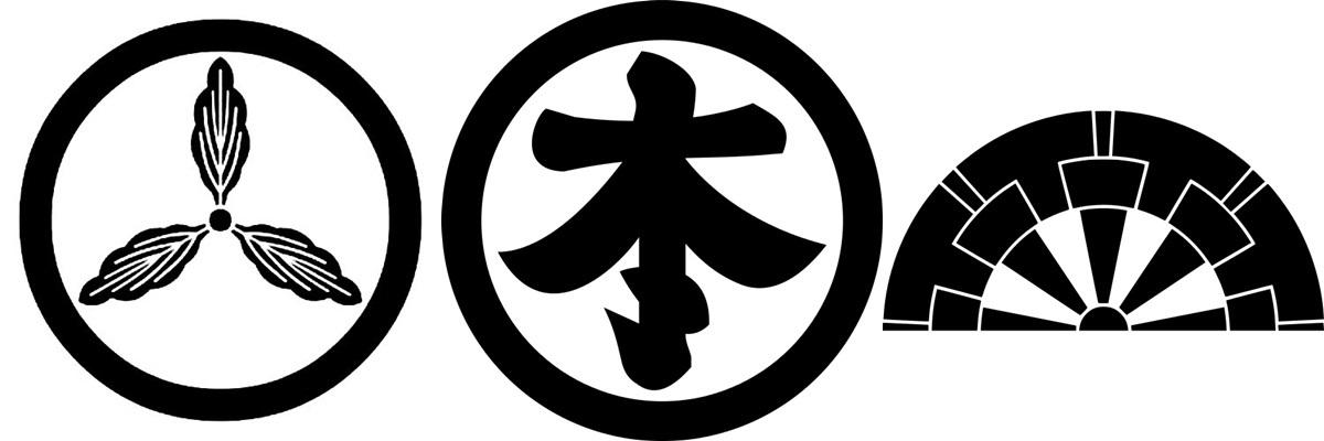 山内一豊 本多忠勝 生駒一正 家紋 旗印 yamauchi-horz