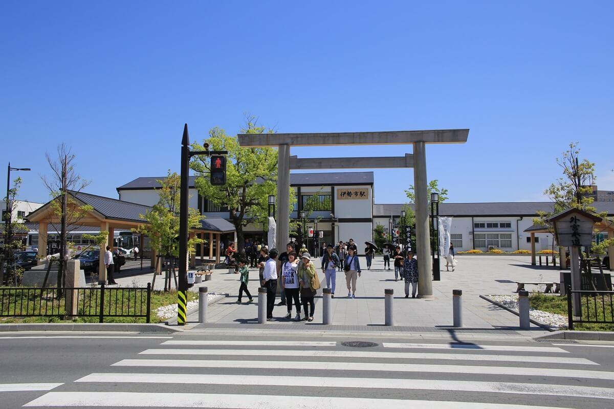 伊勢市駅 iseshieki