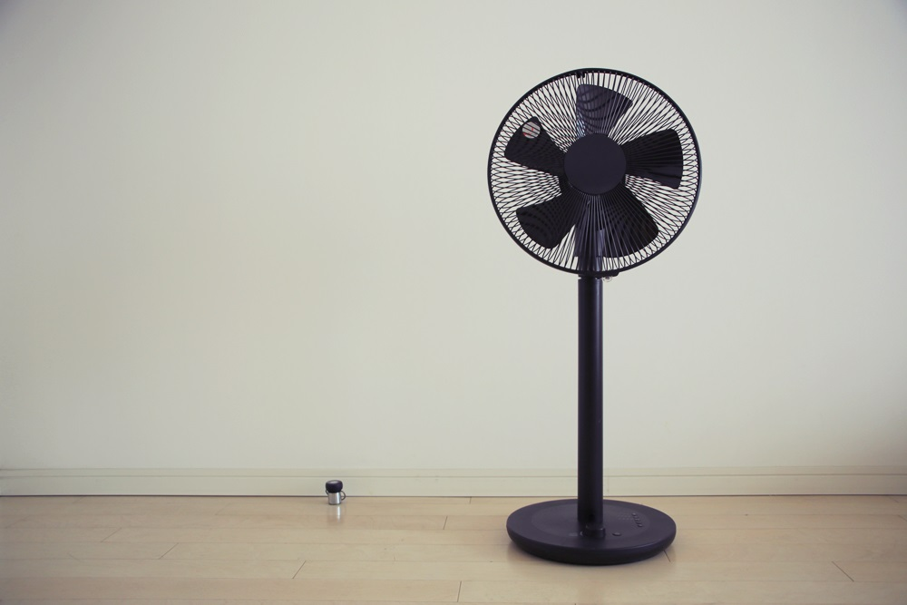 プラスマイナスゼロ 扇風機 ±0 electric fan (4)