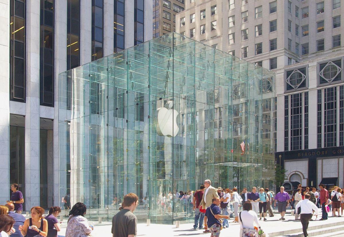 Applestore-NYC アップルストア 五番街店