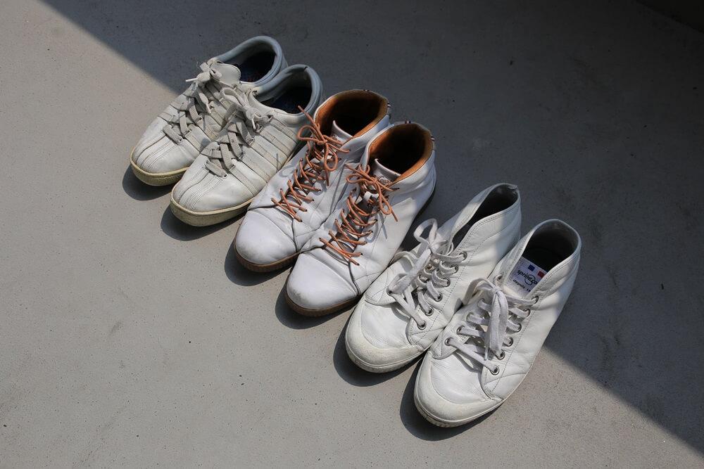 白いスニーカー スプリングコート K-SWISS  white_sneaker (6)