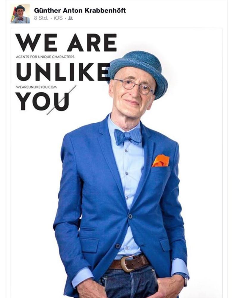104歳と騒がれたお爺ちゃん Günther Krabbenhöft
