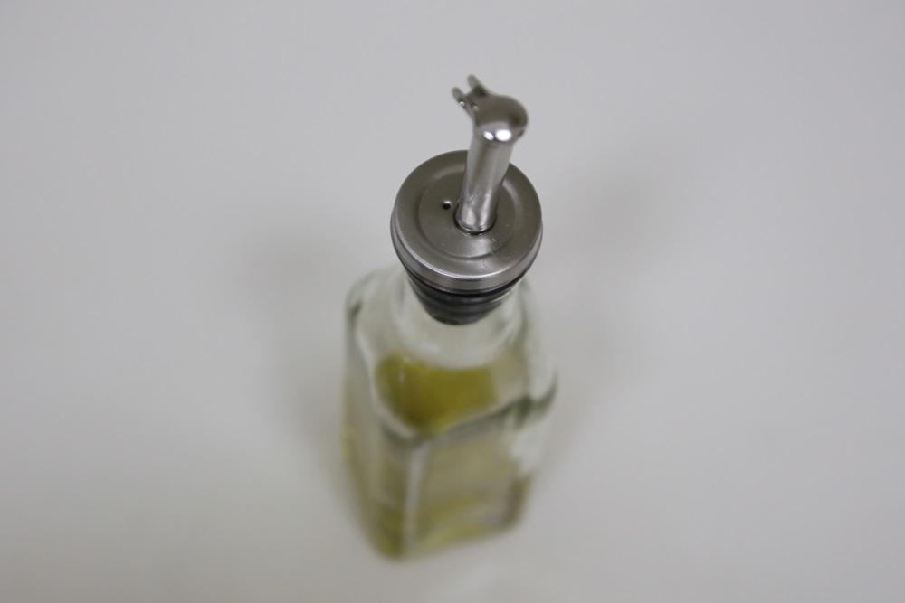 オイル/ヴィネガーボトル Sサイズ 8043 150ml【オイル差し ステンレスノズル付】 Oil_Vinegar_bottle (3)