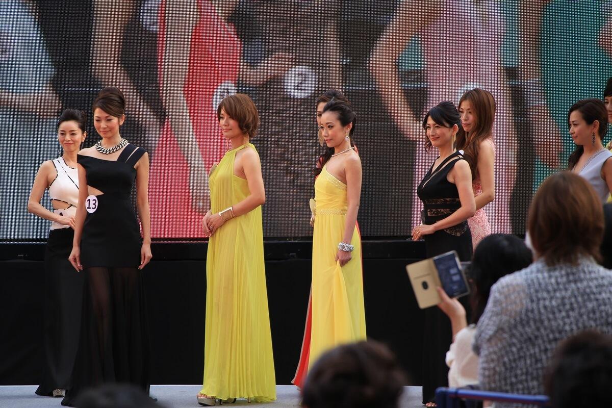 2015年9月26日 第6回 国民的美魔女コンテスト 会場:東京タワー ドレス審査 bimajyo_20150926 (24)