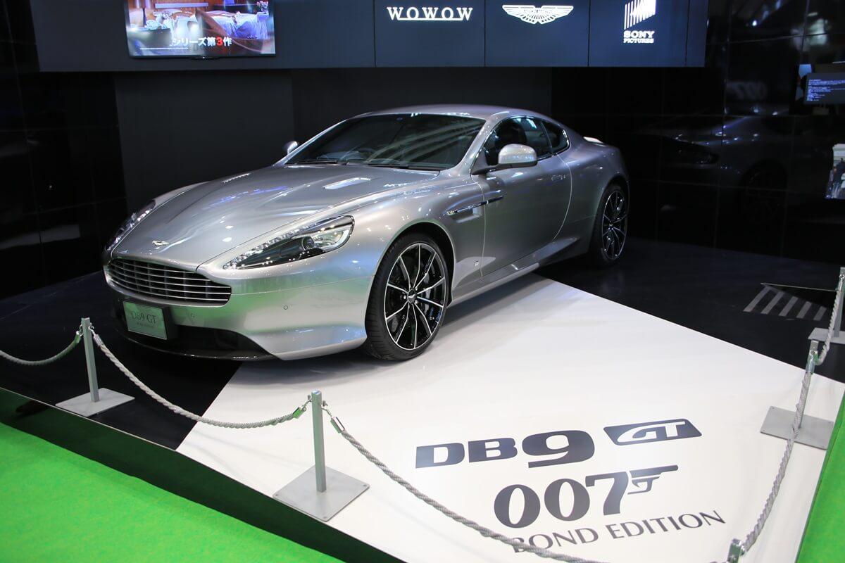 東京モーターショー2015 アストンマーチン 007 Tokyo_motor_show_2015_Aston_Martin