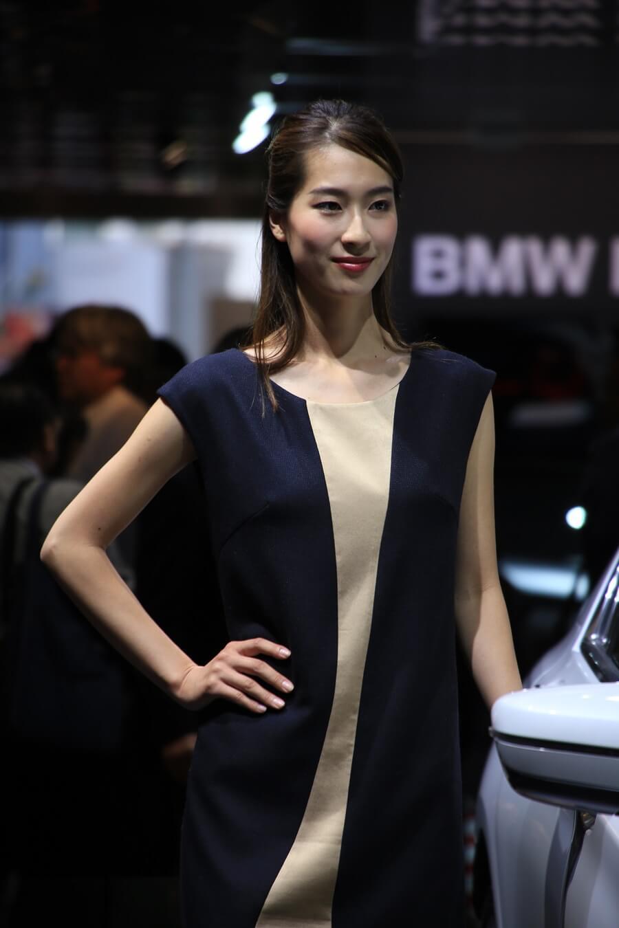 東京モーターショー2015 BMW コンパニオン Tokyo_motor_show_2015_BMW (6)
