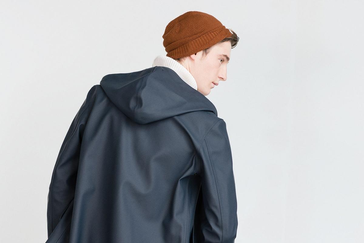 ZARA_raincoat (2) ザラ フード付きレインコート
