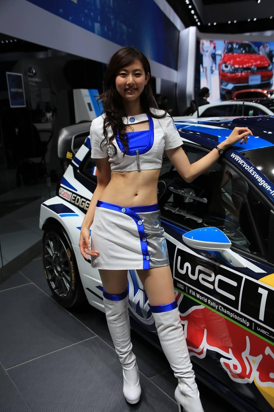 東京モーターショー2015 フォルクスワーゲン コンパニオン Tokyo_motor_show_2015_volkswagen (2)