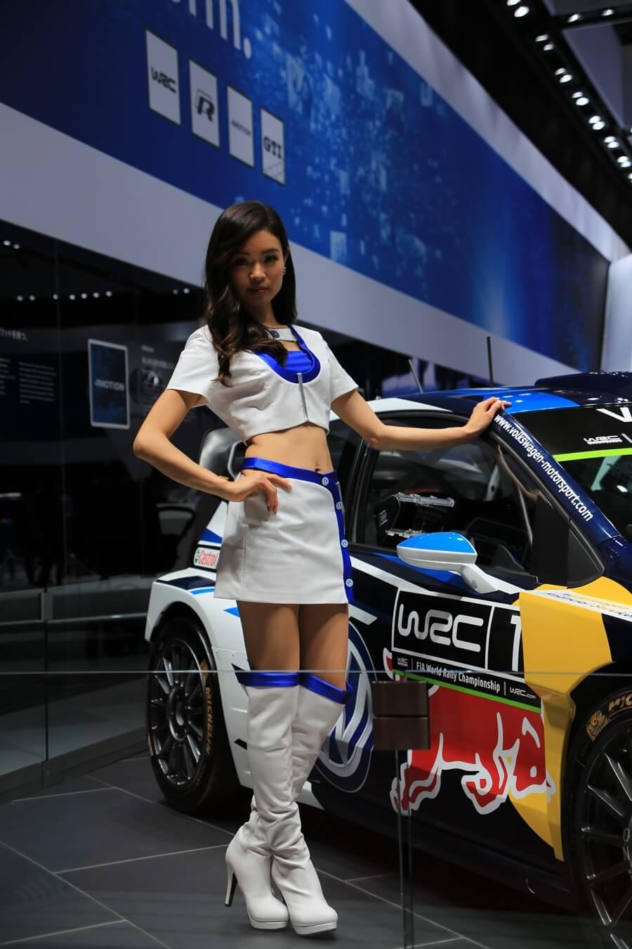東京モーターショー2015 フォルクスワーゲン コンパニオン Tokyo_motor_show_2015_volkswagen (4)