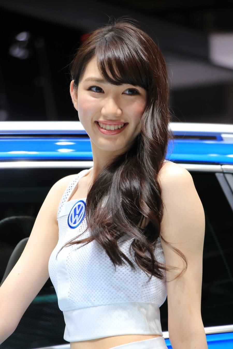東京モーターショー2015 フォルクスワーゲン コンパニオン Tokyo_motor_show_2015_volkswagen (6)