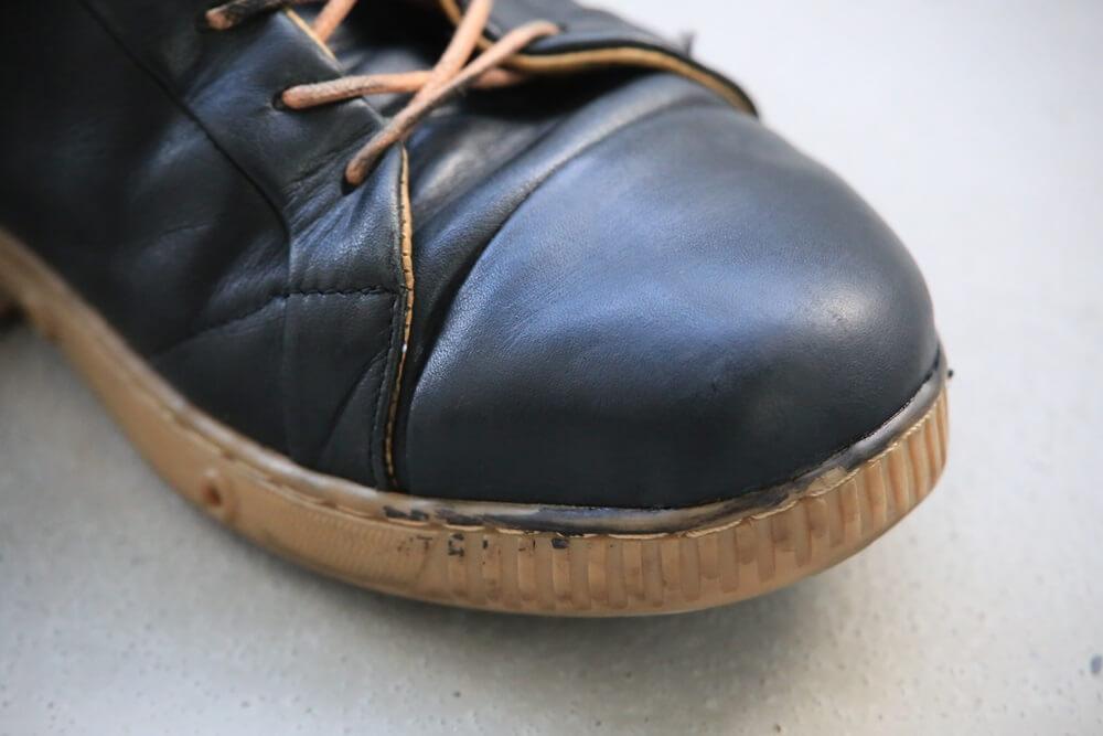 スプリングコート スニーカー サフィール 使用後 springcourt_sneaker (2)