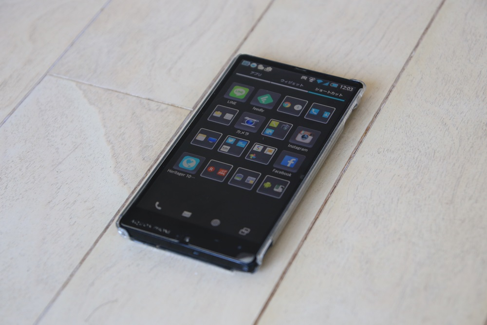 ソフトバンク アクオスフォン AQUOS PHONEXx 302SH