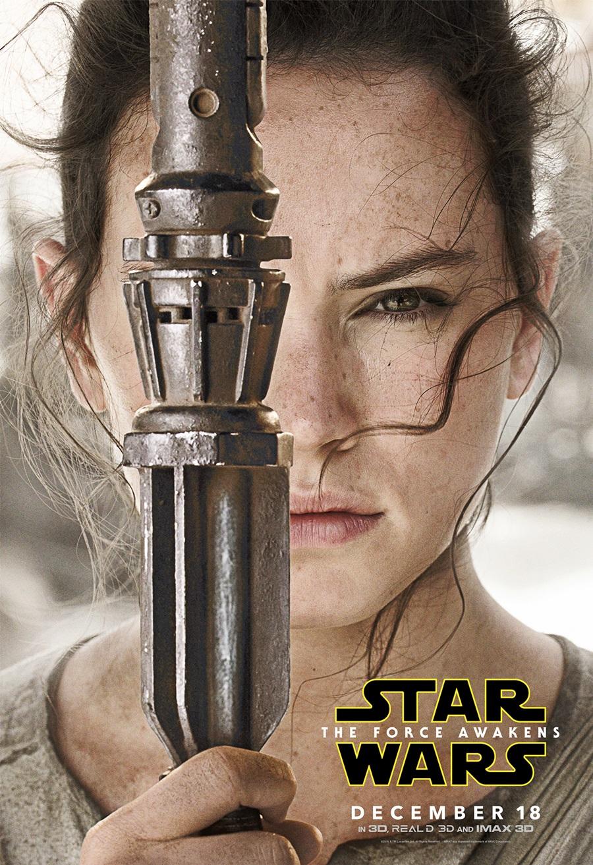 スター・ウォーズ/フォースの覚醒 Star Wars The Force Awakens Character Posters Rey