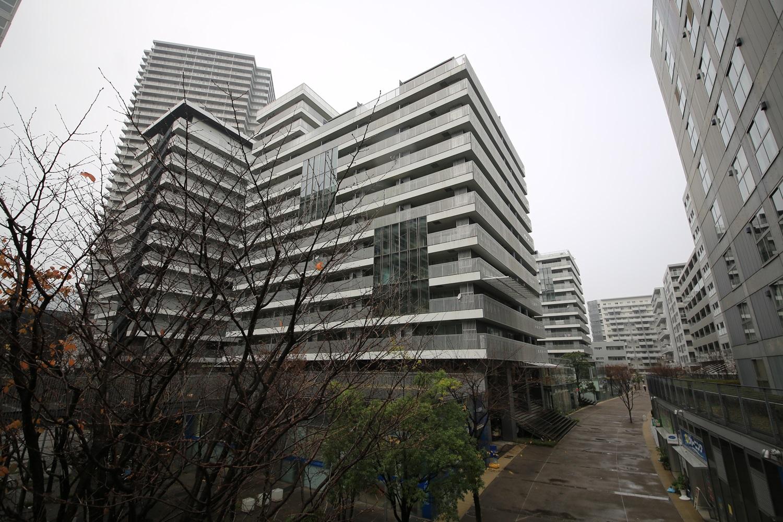 UR東雲キャナルコートCodan 隈研吾 3街区 kodan_shinonome_kengo_kuma (1)