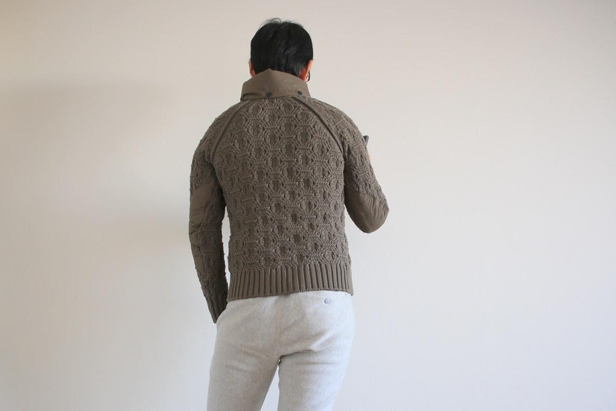 ラグラン袖 ラグランスリーブ ニットジャケット raglan sleeves_knit (2)