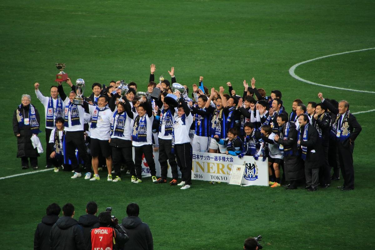 2016年サッカー天皇杯 浦和レッズ vs ガンバ大阪 Emperor'_trophy_2016 (17)