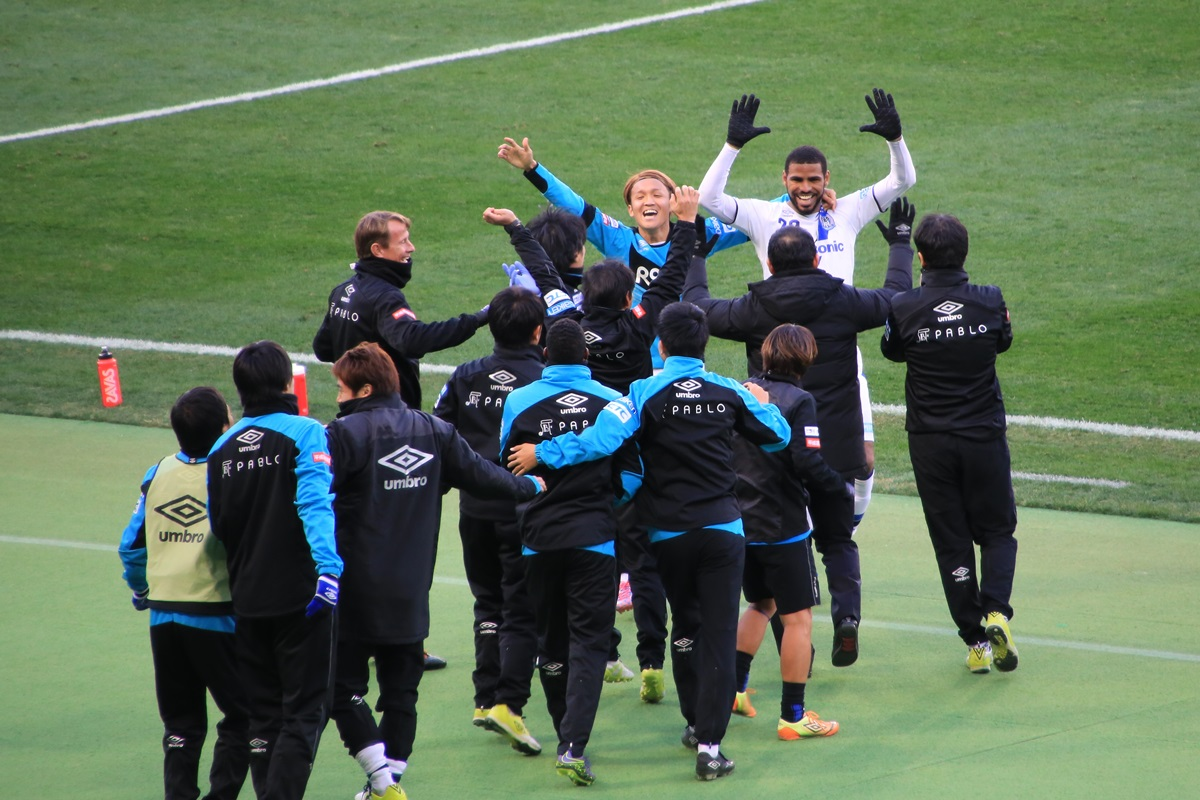 016年サッカー天皇杯 浦和レッズ vs ガンバ大阪 Emperor'_trophy_2016