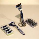髭剃り・カミソリの替刃を長持ちさせる方法。