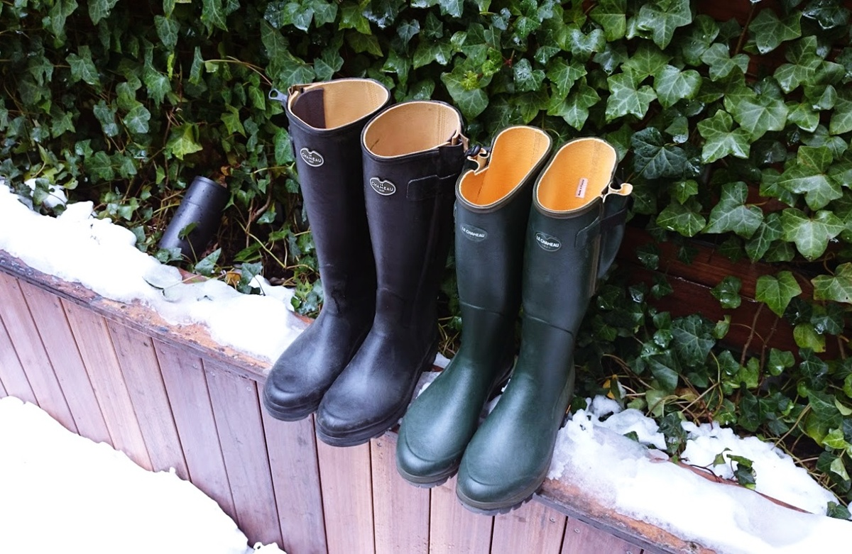 シャスール Vega ル・シャモー ラバーブーツ Le-Chameau-rabber-boots (3)