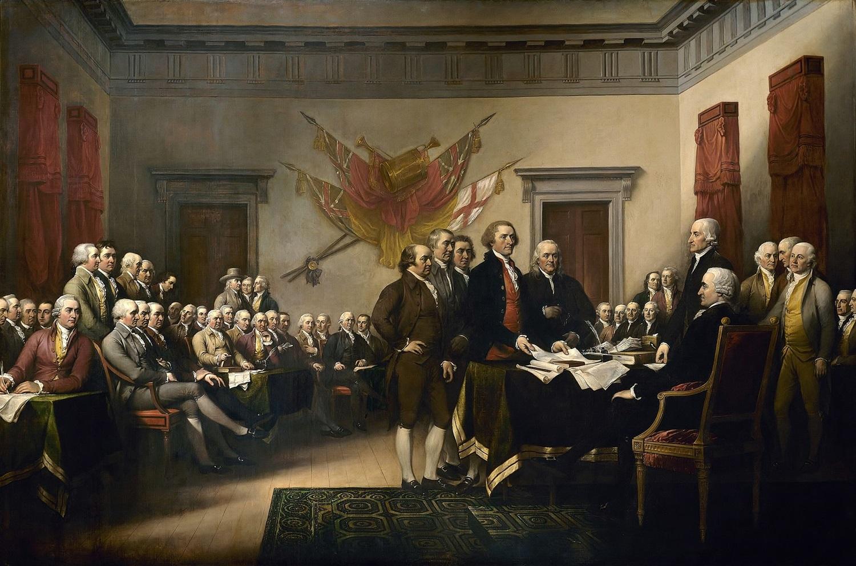アメリカ独立宣言 Declaration_independence