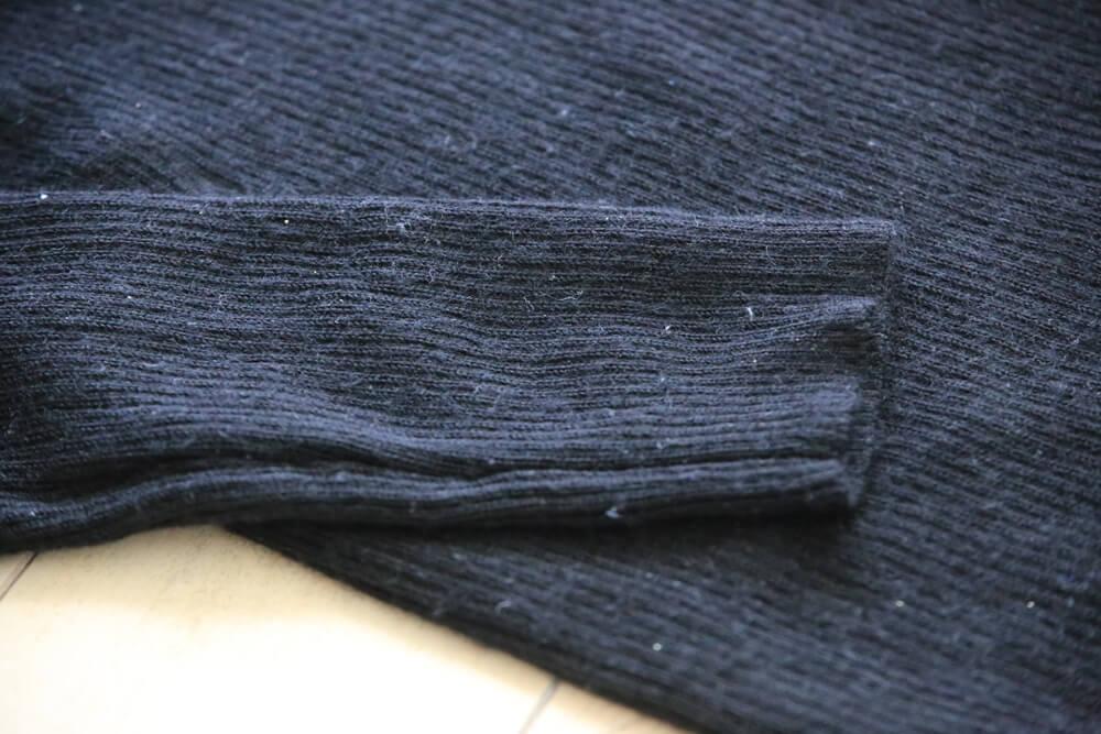 無印良品 首のチクチクをおさえた洗えるタートルネック MUJI_knit (4)