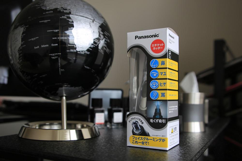 パナソニック エチケットカッター グレー Panasonic_ERGN50H (1)