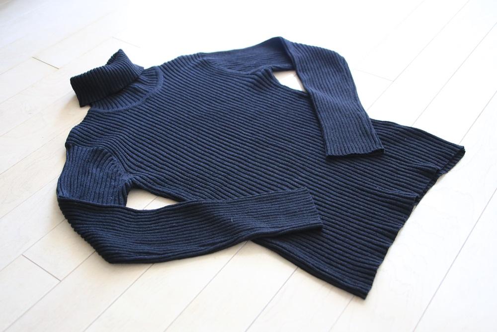 turtleneck (2) セーター ケーブル タートルネックセーター