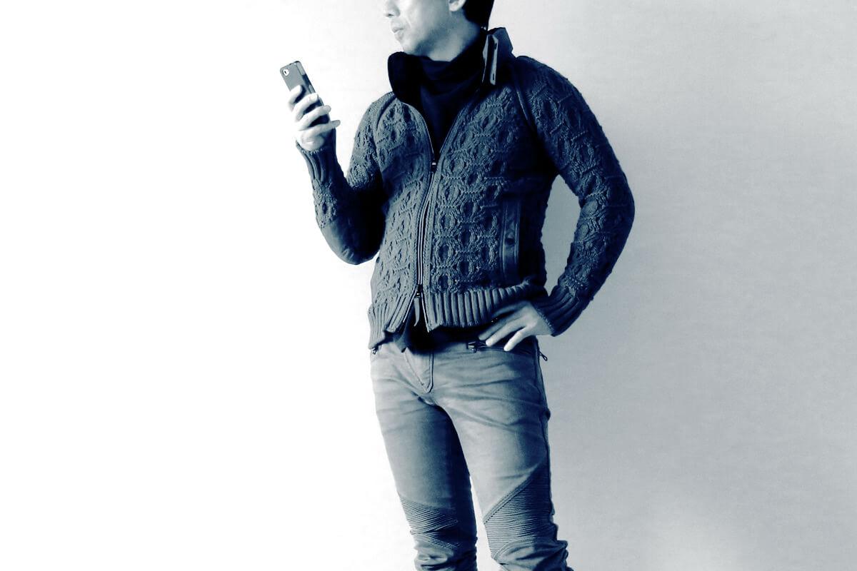 ラグラン袖ニットジャケット Knit_jacket (5)