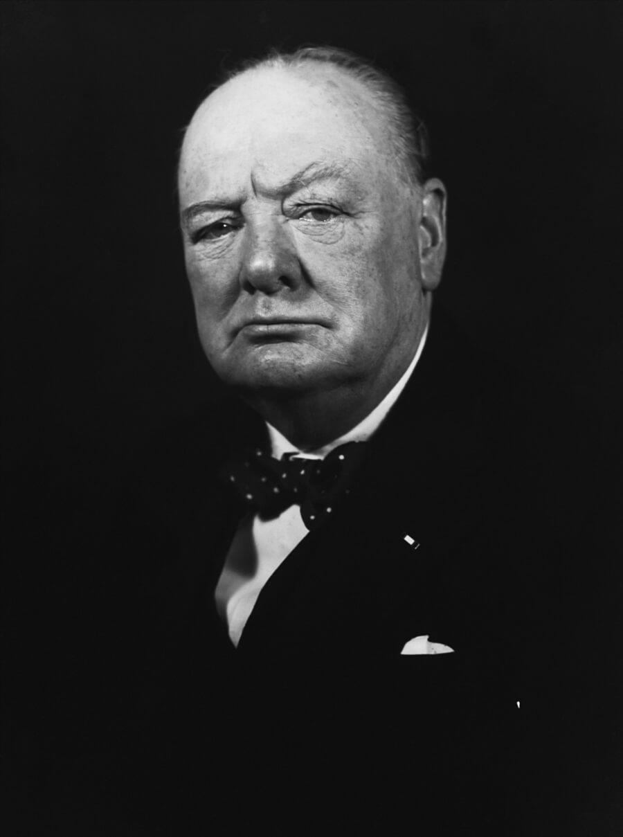 Sir Winston S. Churchill ウィンストン・チャーチル