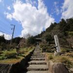 いざ3度目の賀蘇山神社へ。