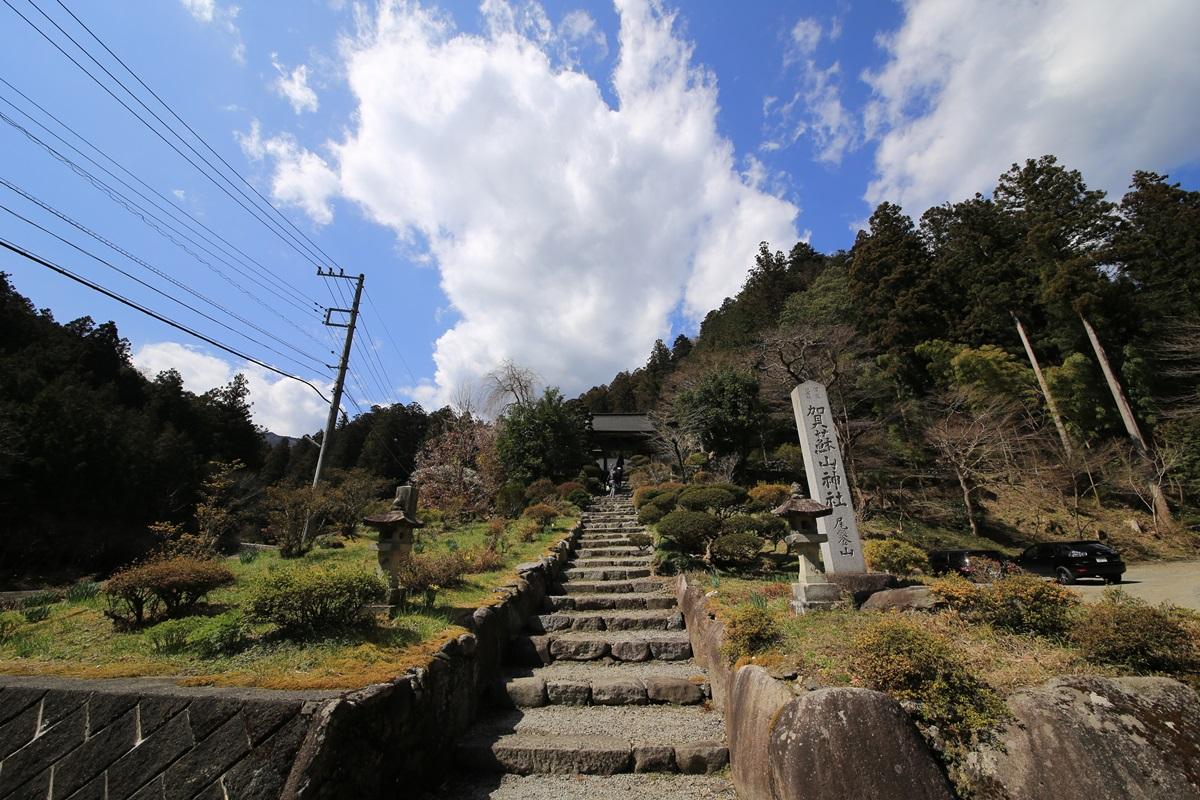 黒ダルマ発祥の社、賀蘇山神社 gasoyama (1)