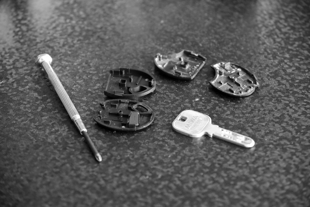 美和ロック NTU・T2RK用樹脂部両面用交換部品[ 鍵 キー miwa-lock (3)