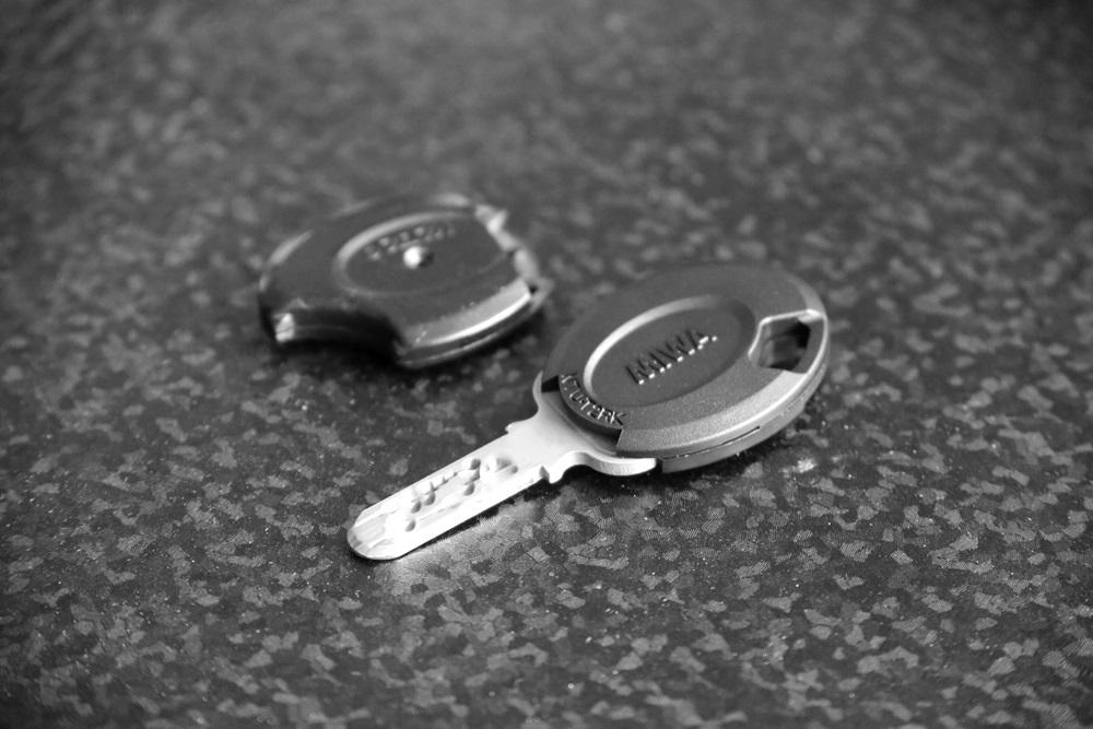 美和ロック NTU・T2RK用樹脂部両面用交換部品[ 鍵 キー miwa-lock (4)