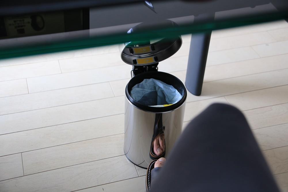 ブラバンシア ペダルビン 3L クローム 348686 簡易ゴミ箱 brabantia_3L (3)