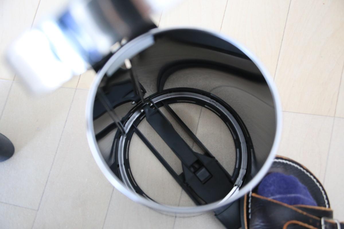 ブラバンシア ペダルビン 3L クローム 348686 簡易ゴミ箱 brabantia_3L