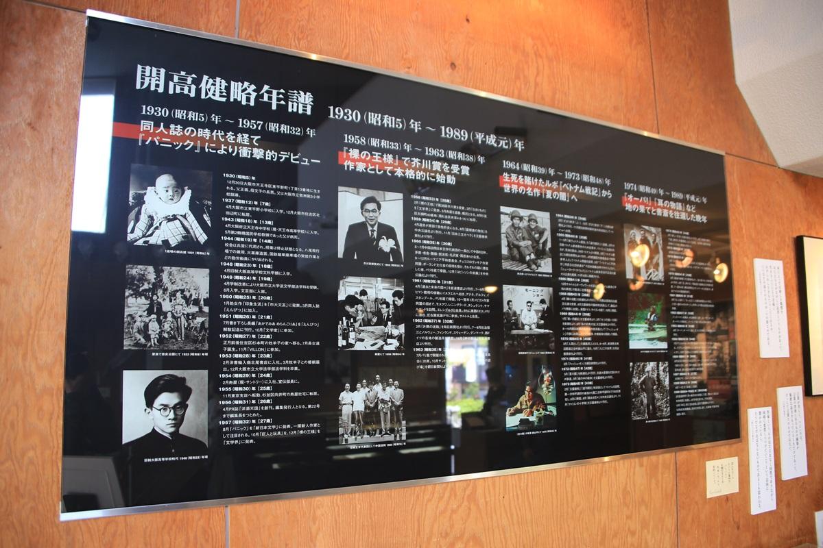 年表 開高健記念館 開高健旧邸宅 kaikoken_museum (14)