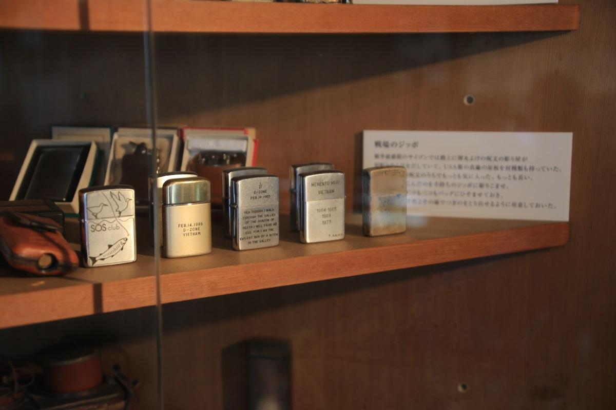 ジッポーのライター 開高健記念館 開高健旧邸宅 kaikoken_museum (17)