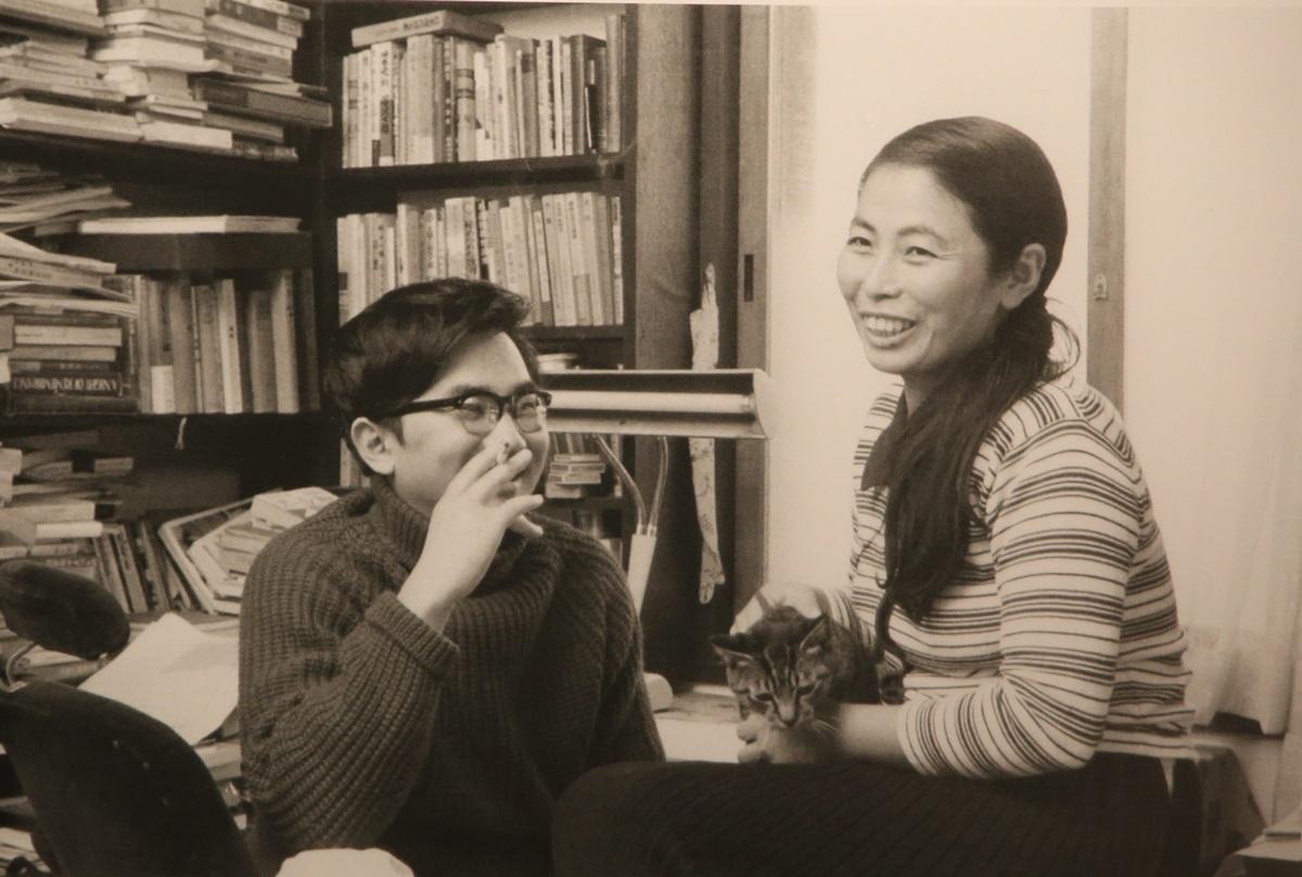 牧洋子と開高健 開高健記念館 開高健旧邸宅 kaikoken_museum (19)