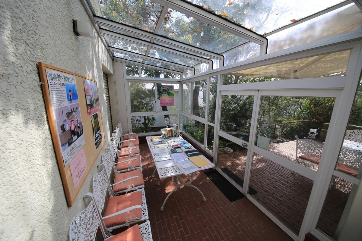 開高健記念館 開高健旧邸宅 サンルーム kaikoken_museum (46)