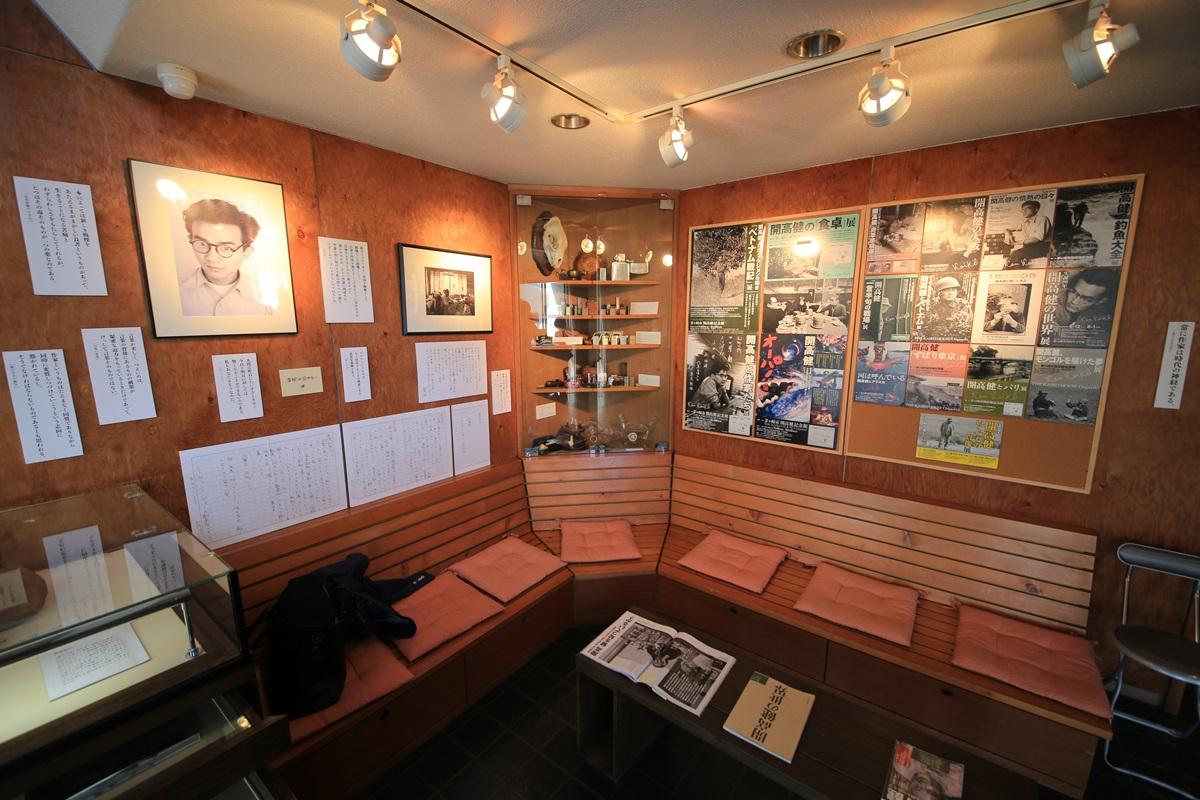 開高健記念館 開高健旧邸宅  リビング kaikoken_museum (47)